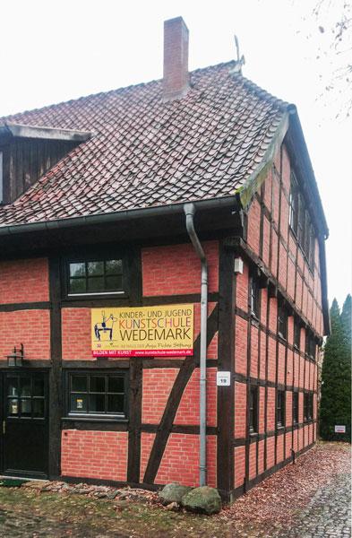 Ansicht Kinder und Jugendkunstschule Wedemark