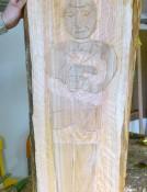 Holzwerkstatt-Schnitzen-