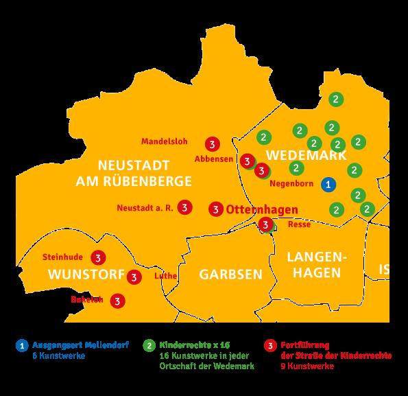 Karte Standpunkte